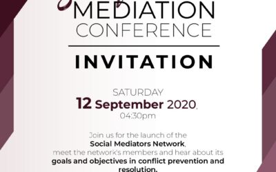 Social Mediation Conference and Network Launch
